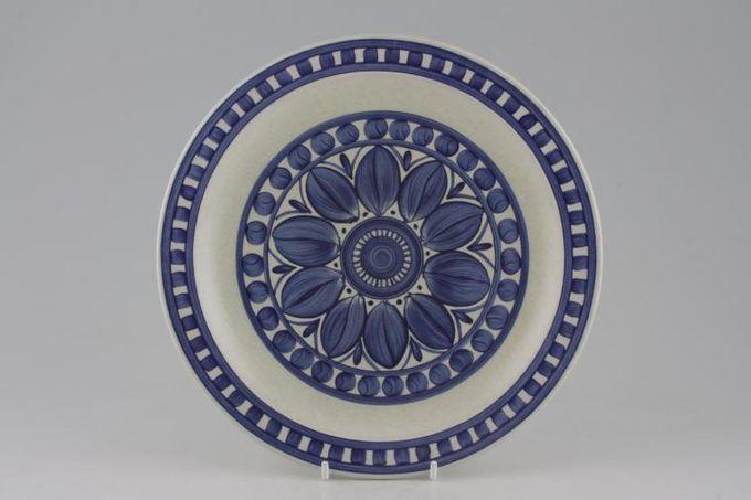 "Midwinter Blue Dahlia Breakfast / Salad / Luncheon Plate 8 3/4"""