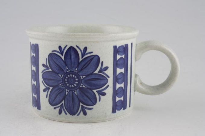 Midwinter Blue Dahlia Teacup 3 1/2 x 2 1/2""