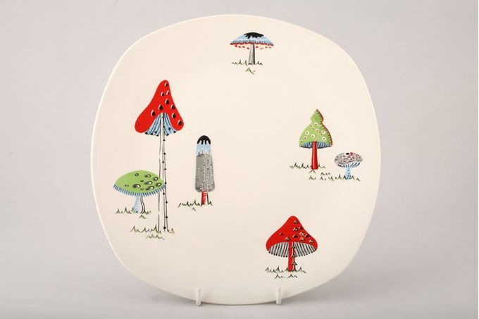 "Midwinter Toadstool Dinner Plate 9 3/4"""