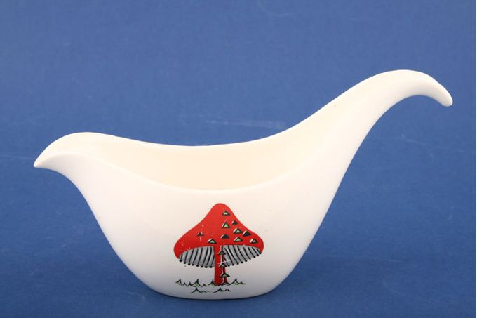 Midwinter Toadstool Sauce Boat