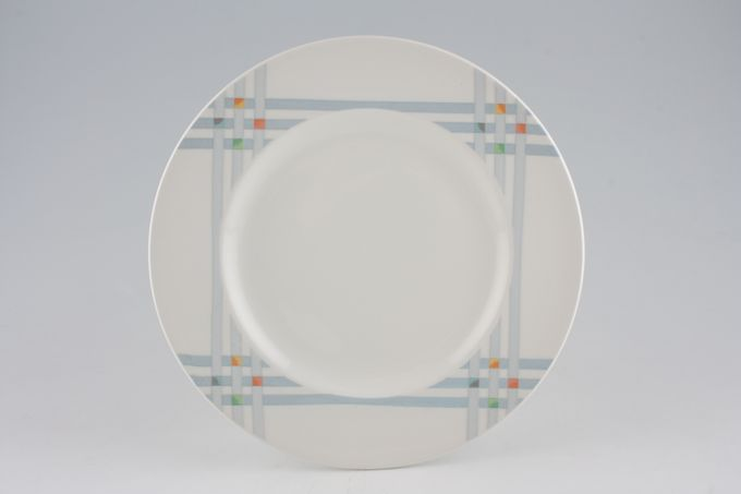 "Midwinter Quatro - Reflex Dinner Plate 10 1/2"""