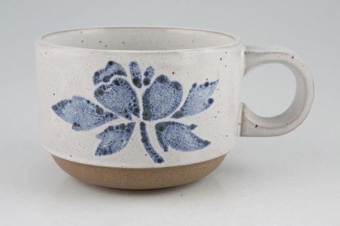 "Midwinter Blue Print Teacup 3 1/2 x 2 1/2"""