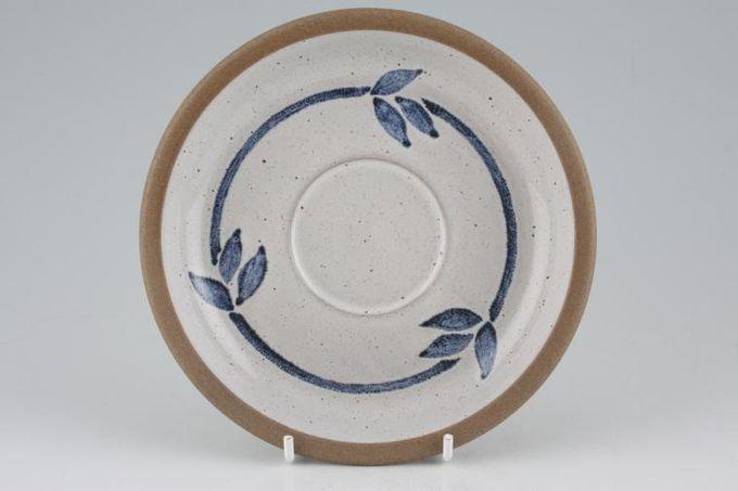 """Midwinter Blue Print Tea Saucer 6 1/4"""""""