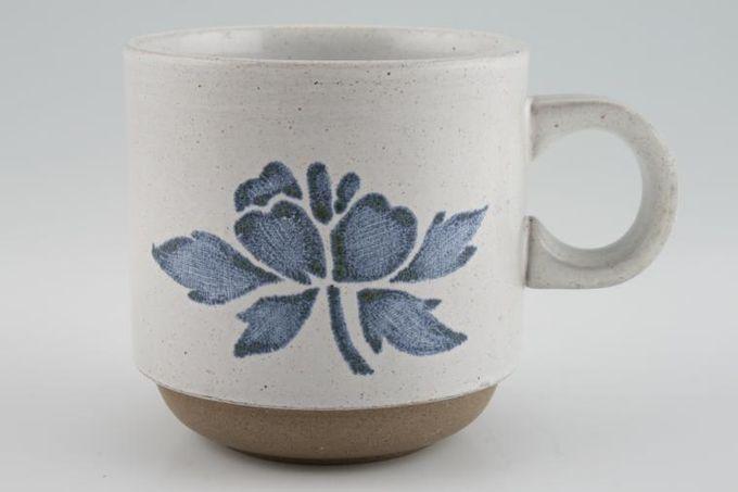 "Midwinter Blue Print Mug 3 3/8 x 3 3/8"""