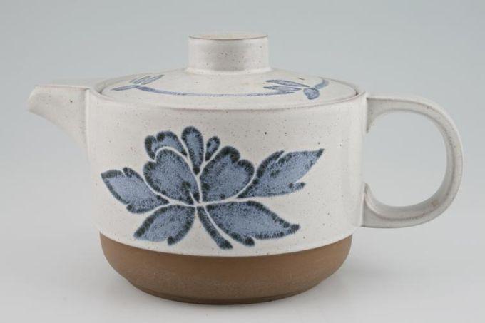 Midwinter Blue Print Teapot 1 1/2pt