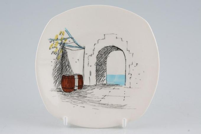 """Midwinter Cannes Coffee Saucer 4 3/4"""""""