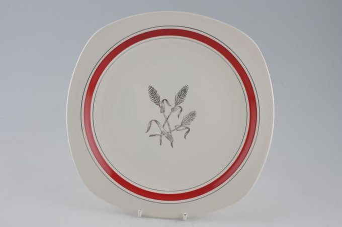 "Midwinter Silver Wheat - Red Tea / Side / Bread & Butter Plate 6 1/4"""
