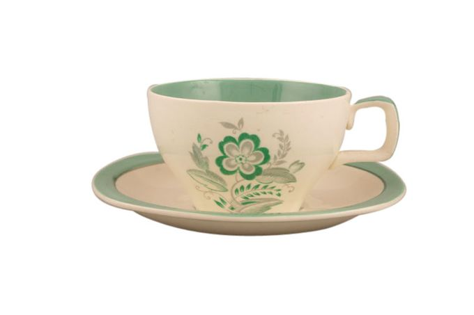 """Midwinter Encore - Green Coffee Cup 3 x 1 7/8"""""""