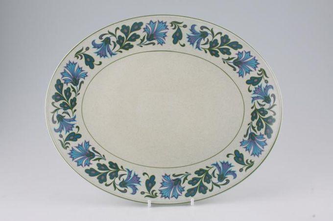 "Midwinter Caprice Oval Plate / Platter 12"""