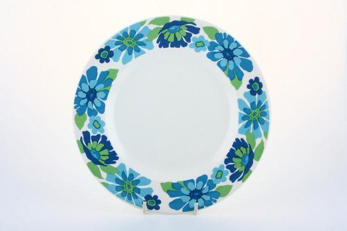"Midwinter English Garden Breakfast / Salad / Luncheon Plate 8 7/8"""