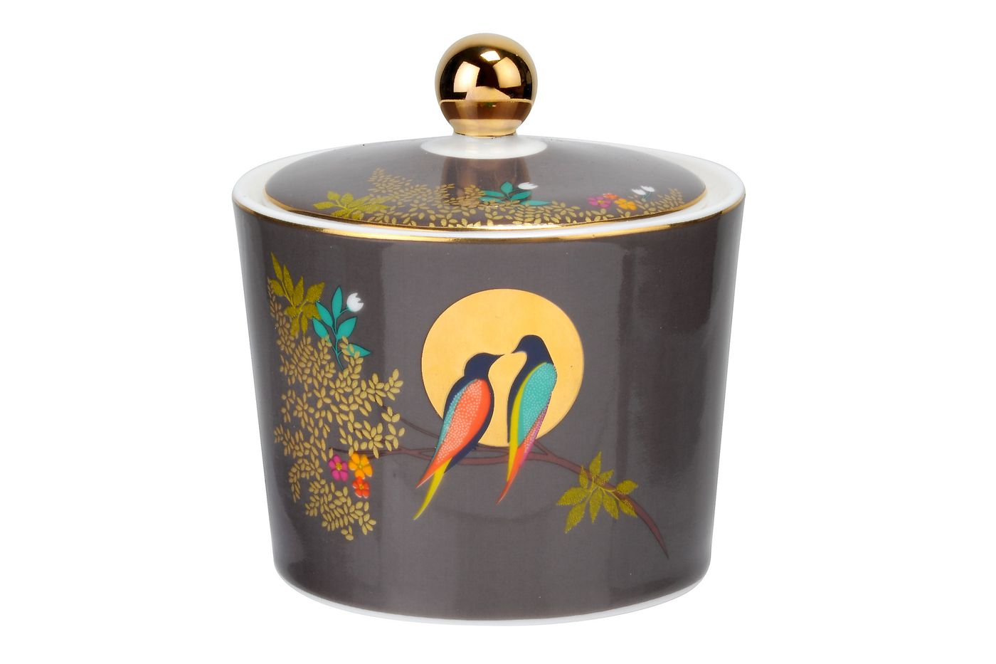 Sara Miller London for Portmeirion Chelsea Collection Sugar Bowl - Lidded (Tea) thumb 1