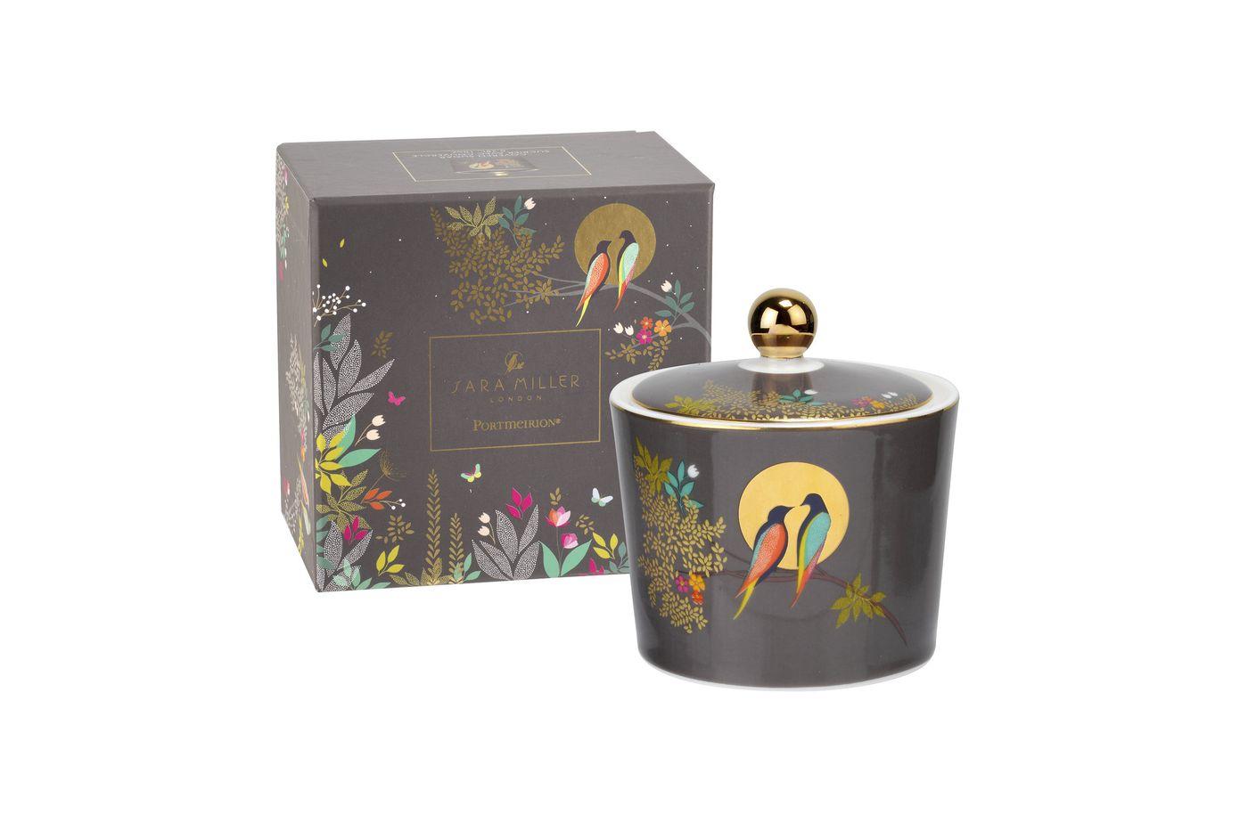 Sara Miller London for Portmeirion Chelsea Collection Sugar Bowl - Lidded (Tea) thumb 2