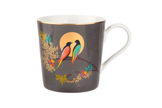 Sara Miller London for Portmeirion Chelsea Collection Mug Dark Grey 0.34l