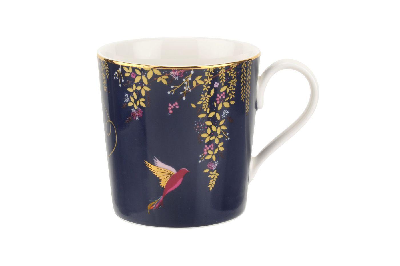 Sara Miller London for Portmeirion Chelsea Collection Mug Navy 0.34l thumb 1