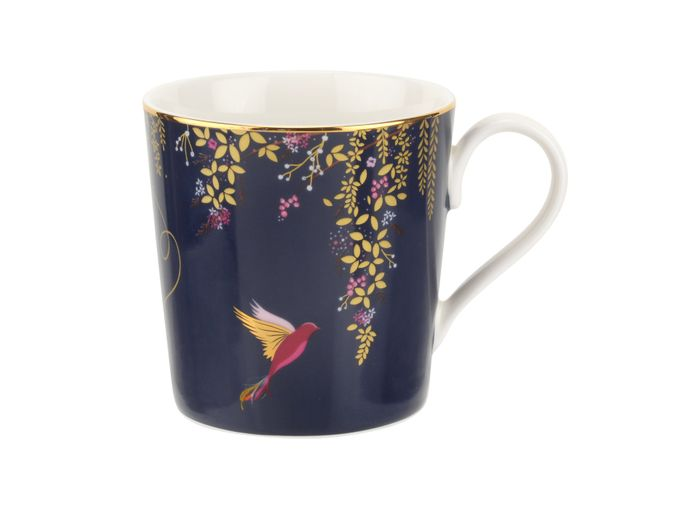 Sara Miller London for Portmeirion Chelsea Collection Mug Navy 0.34l