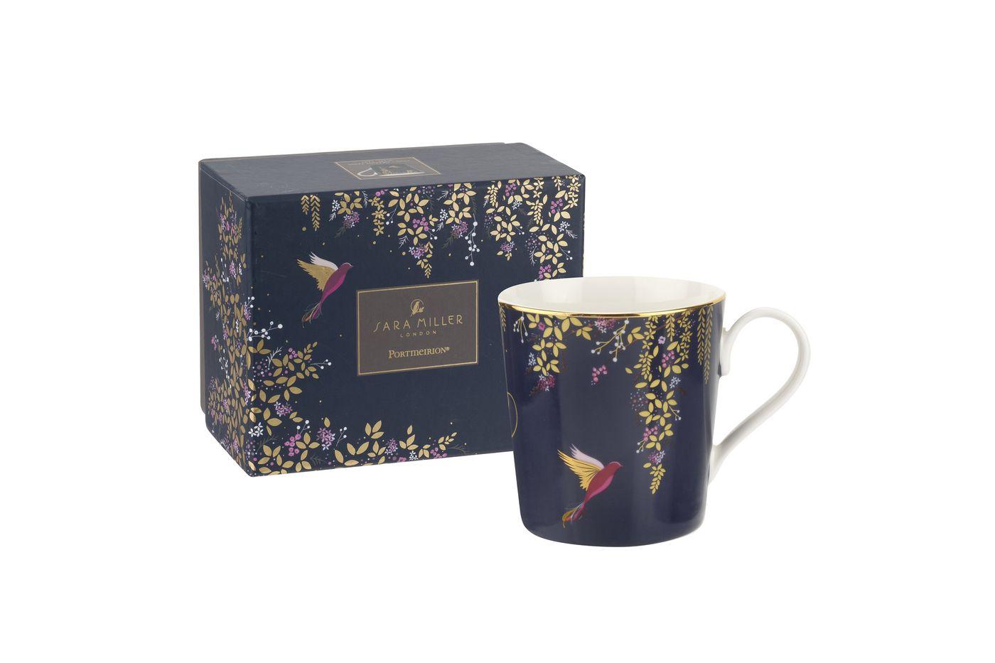 Sara Miller London for Portmeirion Chelsea Collection Mug Navy 0.34l thumb 2