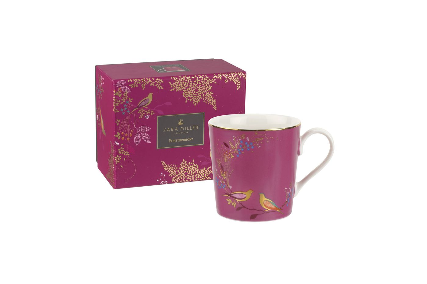 Sara Miller London for Portmeirion Chelsea Collection Mug Pink 0.34l thumb 2