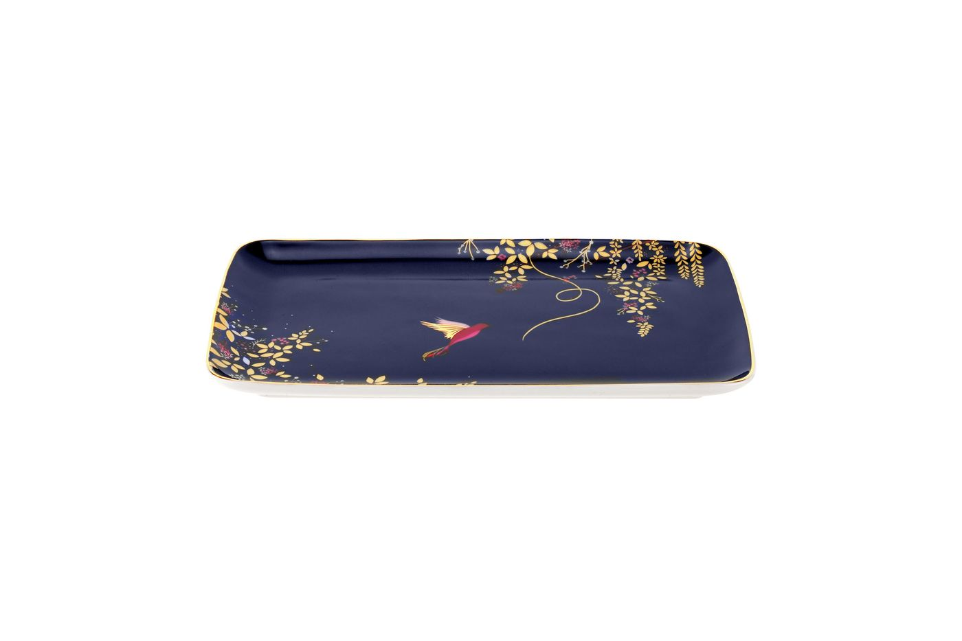 Sara Miller London for Portmeirion Chelsea Collection Trinket Tray 19cm thumb 1