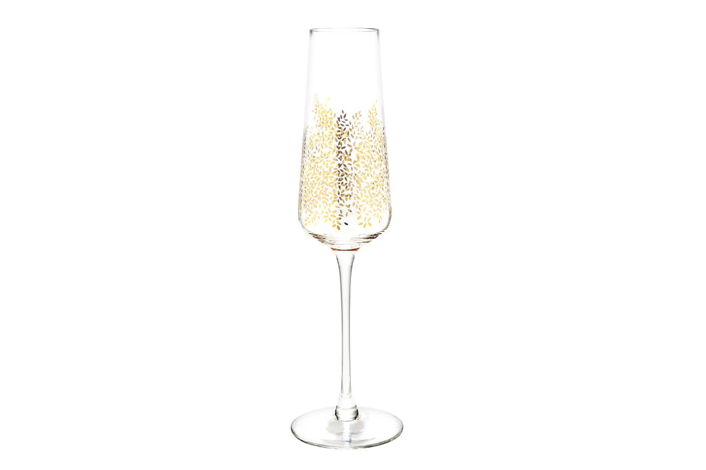 Sara Miller London for Portmeirion Chelsea Collection Set of 4 Flutes Chelsea Gold Leaf 0.44l thumb 2