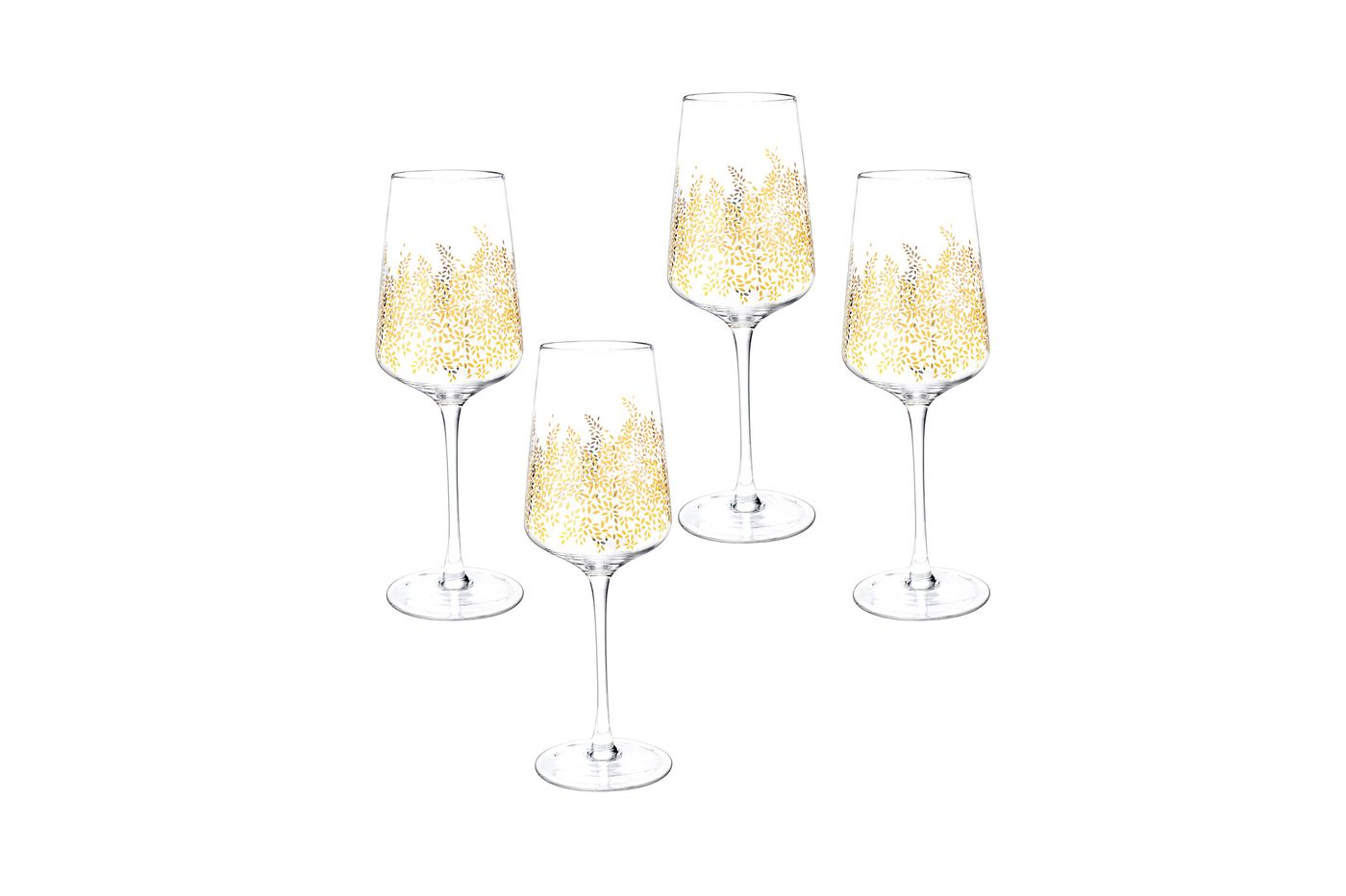 Sara Miller London for Portmeirion Chelsea Collection Set of 4 Wine Glasses 0.26l thumb 1