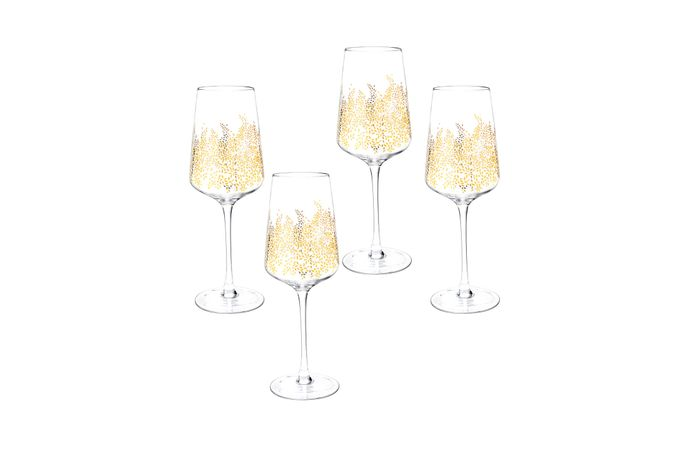 Sara Miller London for Portmeirion Chelsea Collection Set of 4 Wine Glasses 0.26l