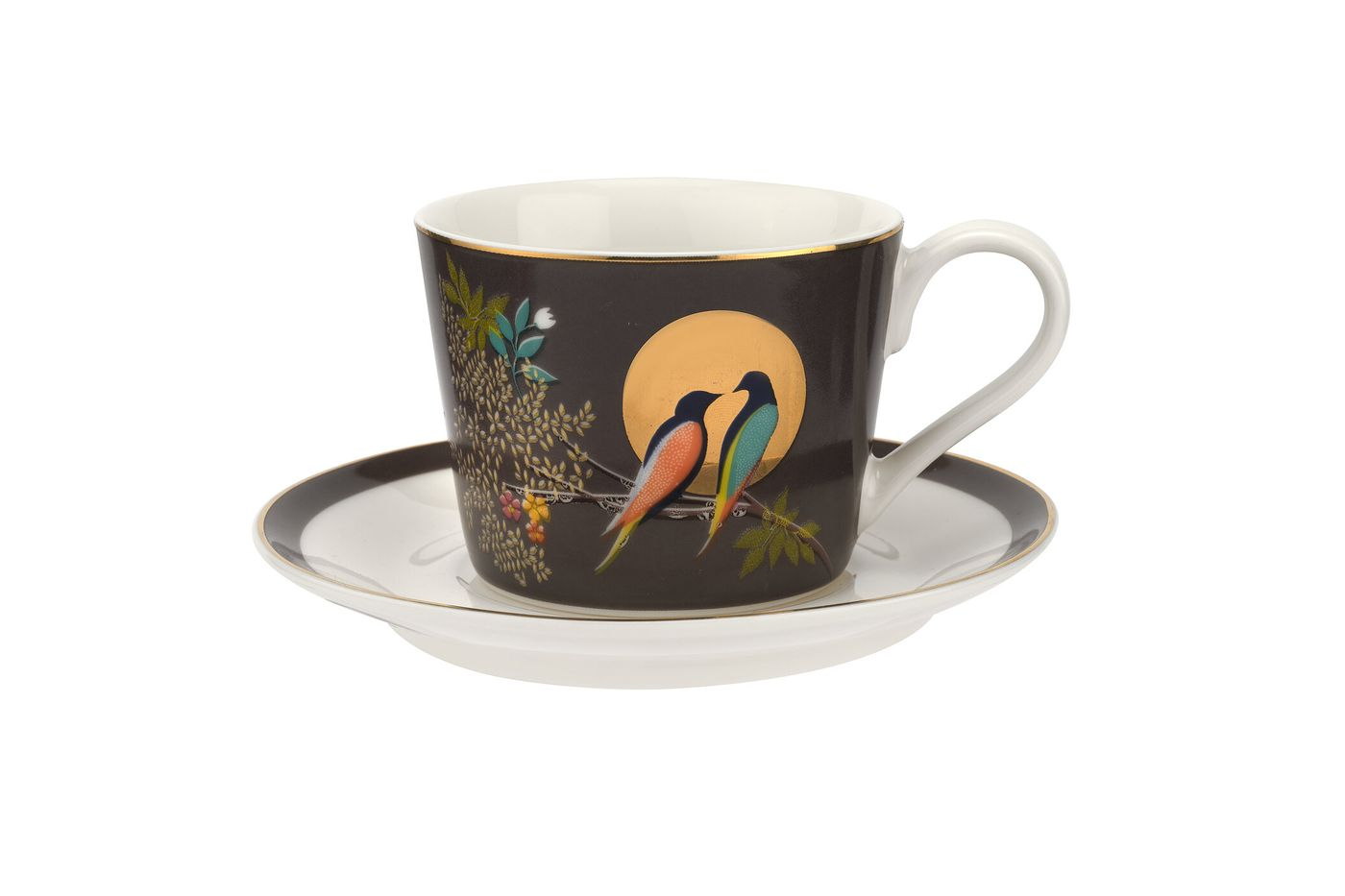 Sara Miller London for Portmeirion Chelsea Collection Espresso Cup & Saucer - Set of 4 0.11l thumb 2