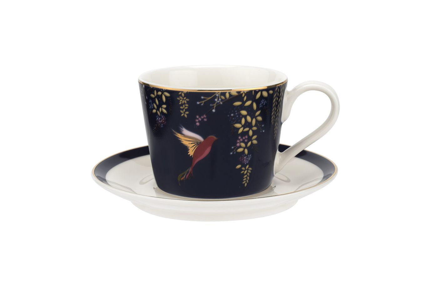 Sara Miller London for Portmeirion Chelsea Collection Espresso Cup & Saucer - Set of 4 0.11l thumb 3
