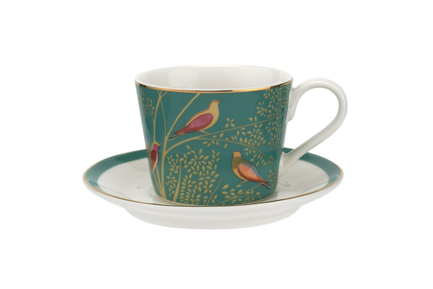Sara Miller London for Portmeirion Chelsea Collection Espresso Cup & Saucer - Set of 4 0.11l thumb 4