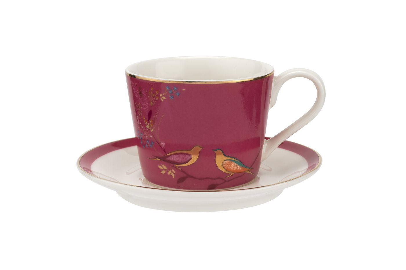 Sara Miller London for Portmeirion Chelsea Collection Espresso Cup & Saucer - Set of 4 0.11l thumb 5