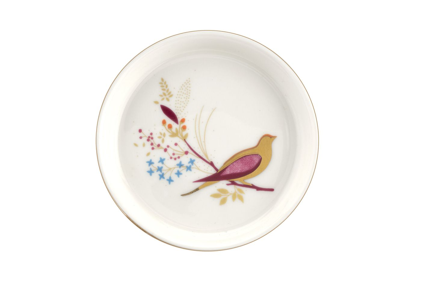 Sara Miller London for Portmeirion Chelsea Collection Small Dish Pink 7.5cm thumb 2