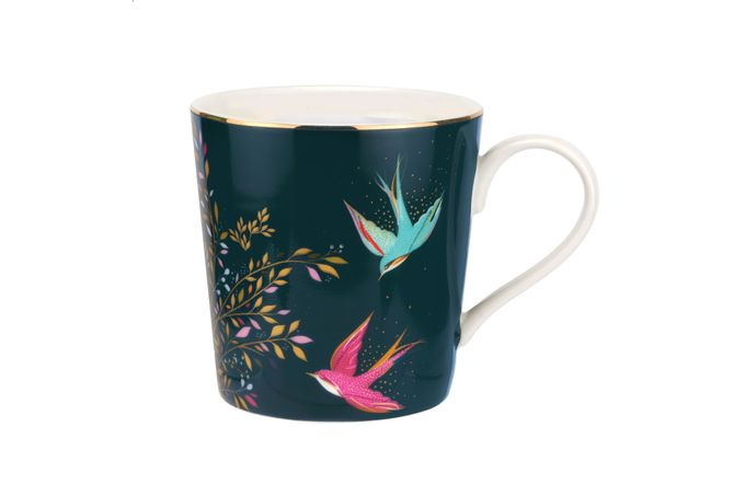 Sara Miller London for Portmeirion Chelsea Collection Mug Dark Green 0.34l