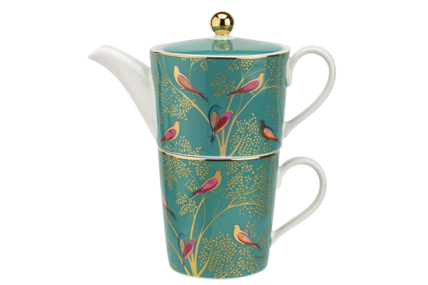 Sara Miller London for Portmeirion Chelsea Collection Tea For One Green 0.35l thumb 1