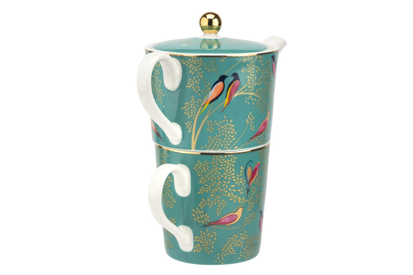 Sara Miller London for Portmeirion Chelsea Collection Tea For One Green 0.35l thumb 2