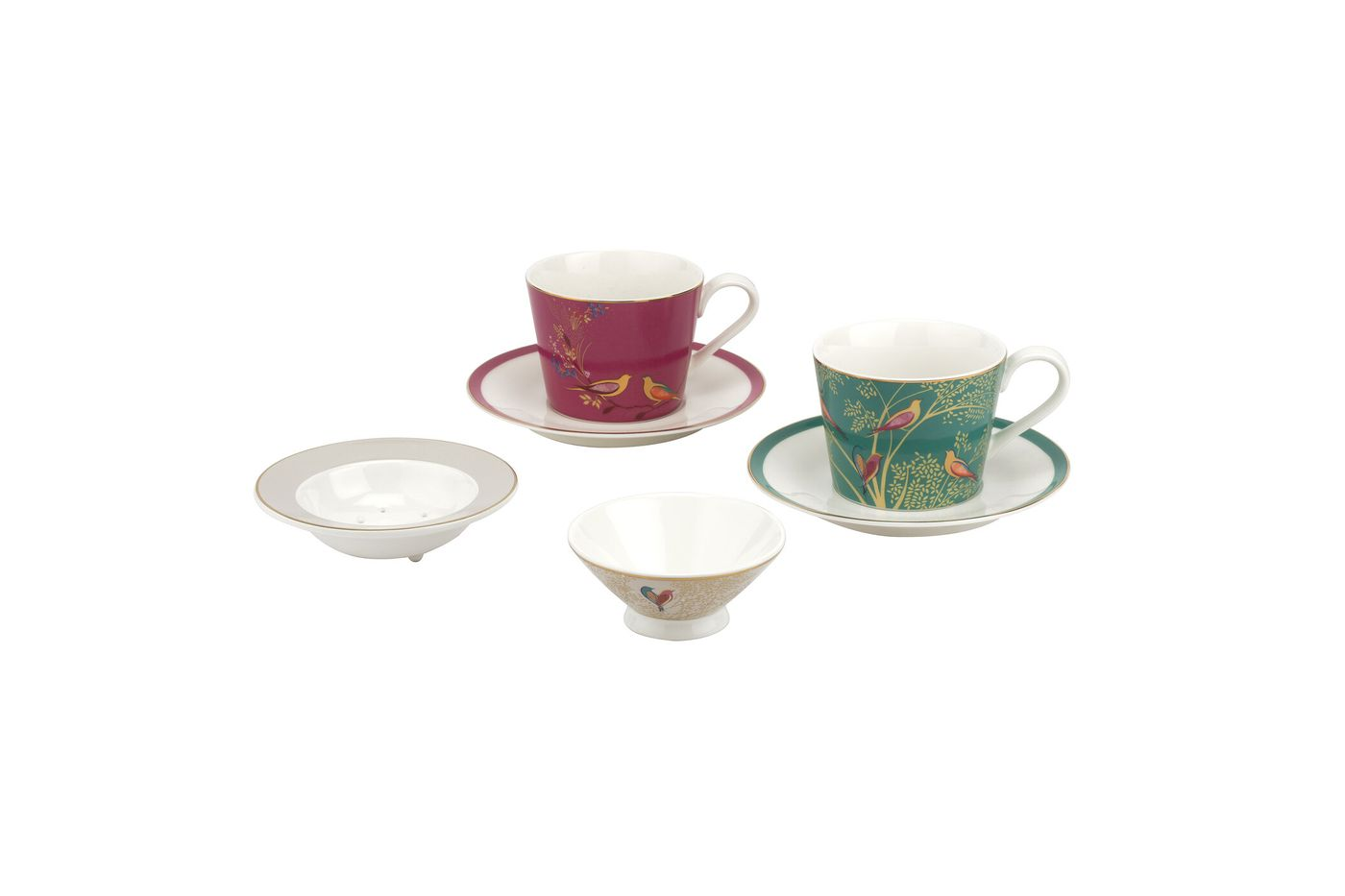 Sara Miller London for Portmeirion Chelsea Collection Tea For Two thumb 1