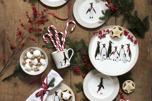 Sara Miller London for Portmeirion Penguin Christmas Collection