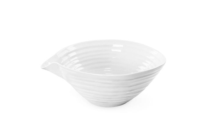 Sophie Conran for Portmeirion White Mixing Bowl Pouring/Mixing Bowl 19cm