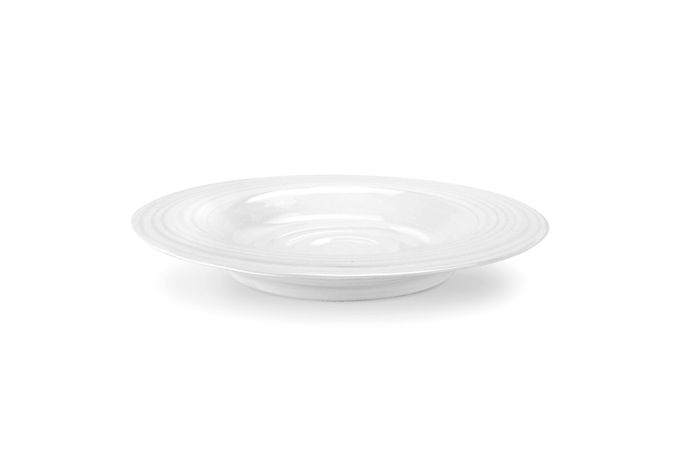Sophie Conran for Portmeirion White Rimmed Bowl Single 25cm