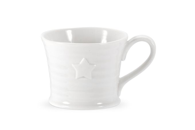 Sophie Conran for Portmeirion White Mug Embossed Star Mug 0.17l