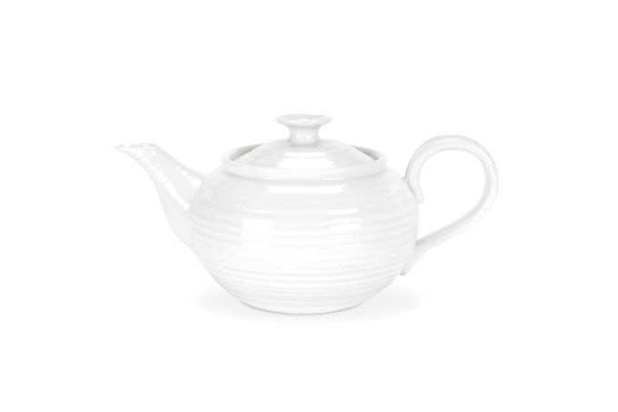 Sophie Conran for Portmeirion White Teapot Small. Gift Boxed 0.6l