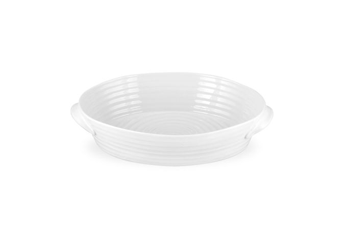 Sophie Conran for Portmeirion White Roaster Medium Oval Roasting Dish 29.5 x 20 x 6cm