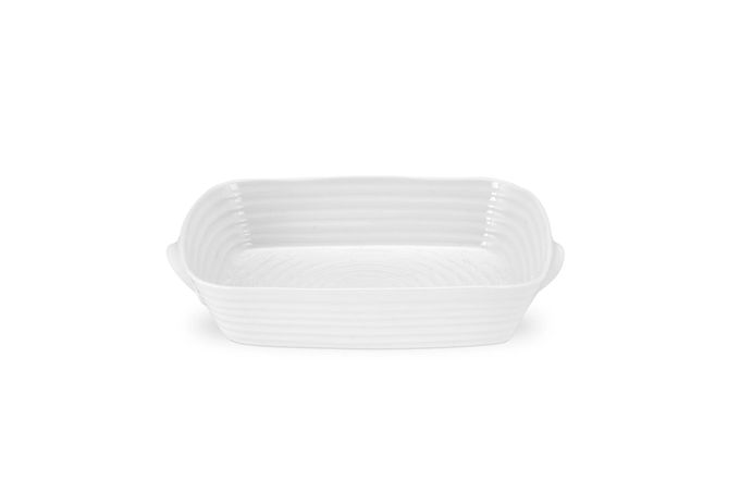Sophie Conran for Portmeirion White Roaster Small Handled Roasting Dish 27.5 x 20cm