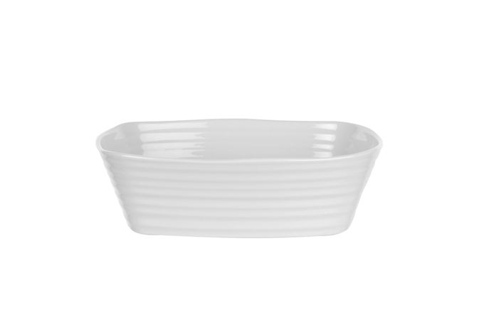 Sophie Conran for Portmeirion White Roaster Small Rectangular Roasting Dish 20.8 x 17cm