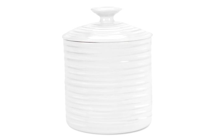 Sophie Conran for Portmeirion White Storage Jar + Lid Gift Boxed, Small