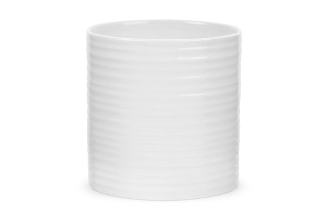 Sophie Conran for Portmeirion White Utensil Jar Oval - Large