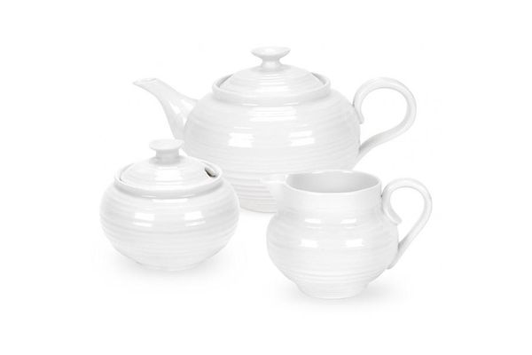 Sophie Conran for Portmeirion White 3 Piece Set Gift Boxed