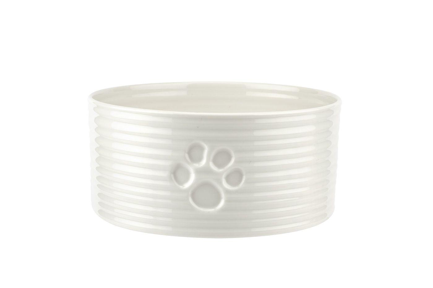 Sophie Conran for Portmeirion White Pet Bowl 19.5cm thumb 1