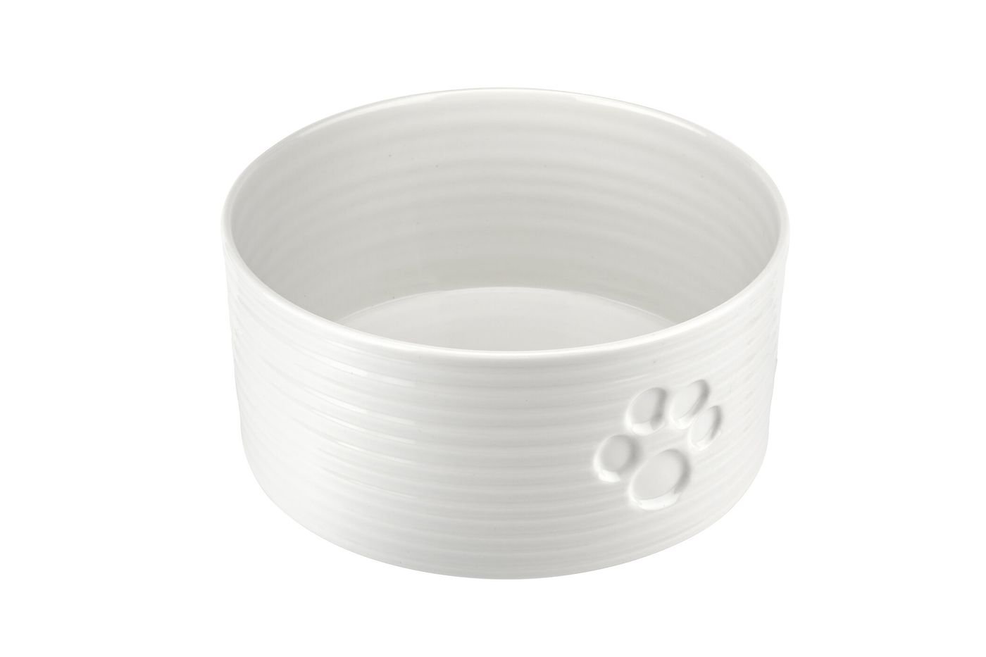 Sophie Conran for Portmeirion White Pet Bowl 19.5cm thumb 2