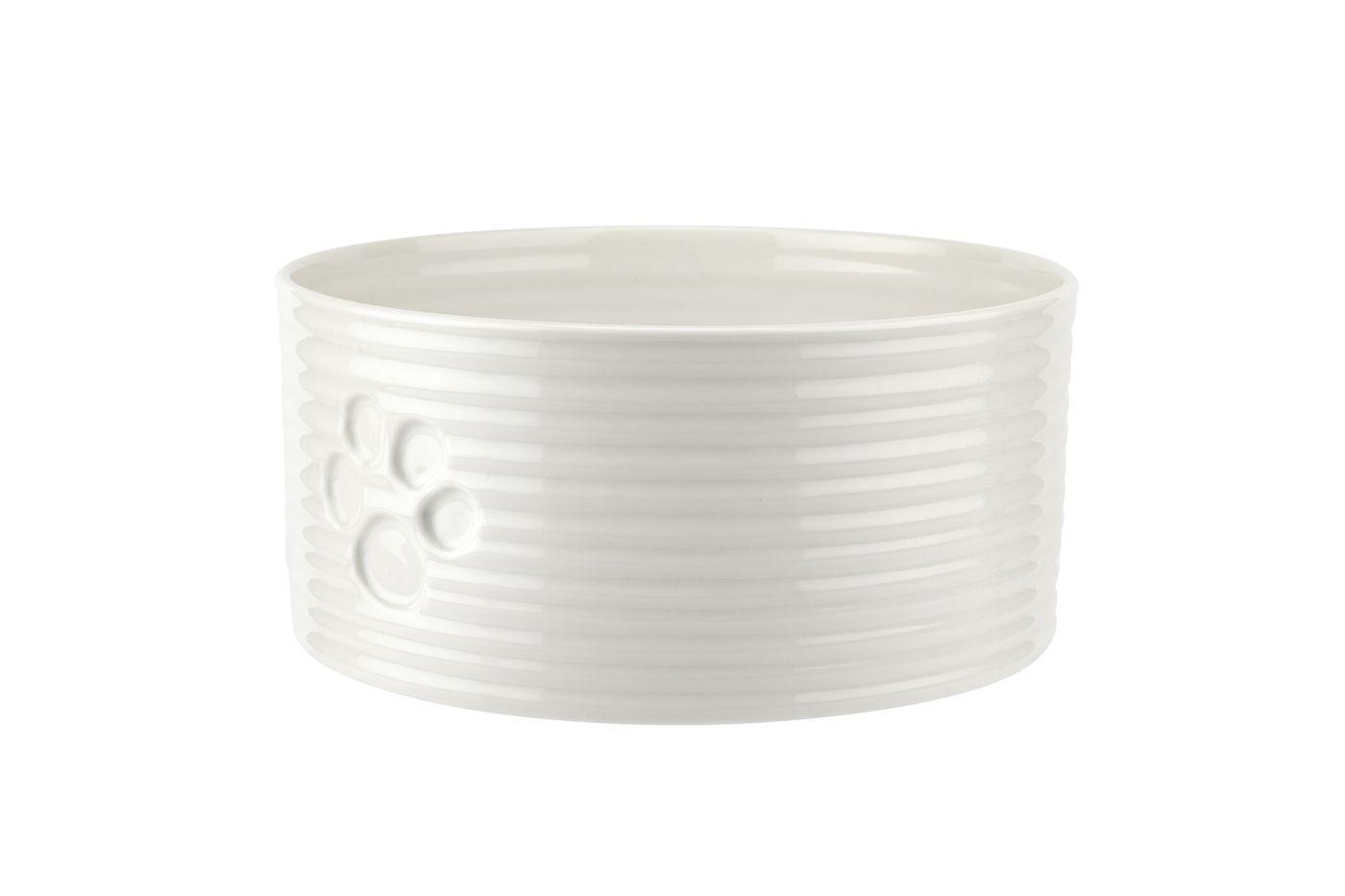 Sophie Conran for Portmeirion White Pet Bowl 19.5cm thumb 3