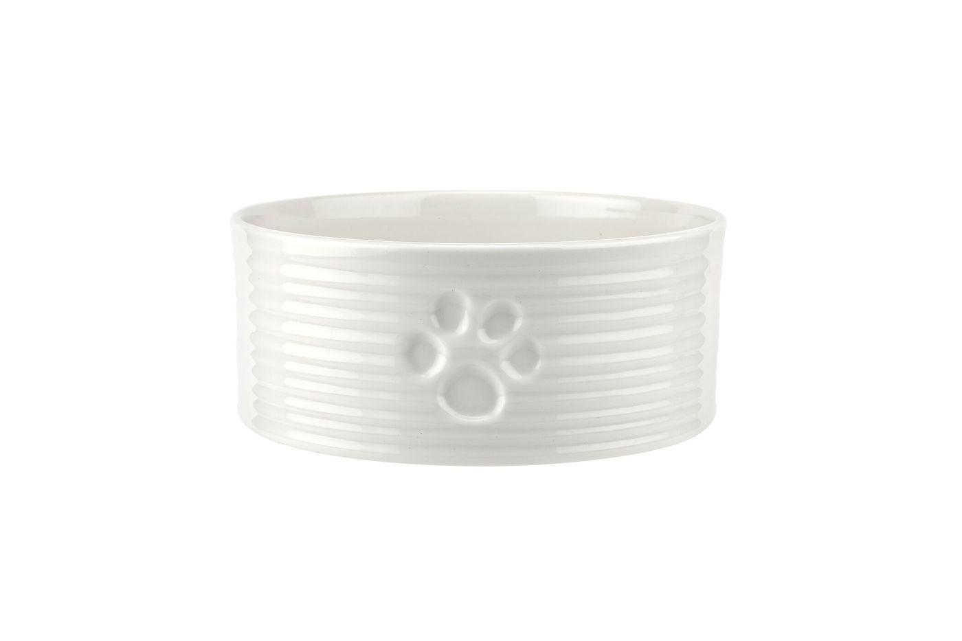 Sophie Conran for Portmeirion White Pet Bowl 15.25cm thumb 1