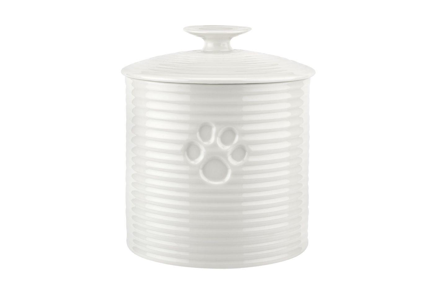 Sophie Conran for Portmeirion White Pet Treat Jar 16.5cm thumb 1